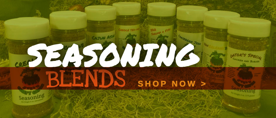 Guilty Gator Seasoning Blends