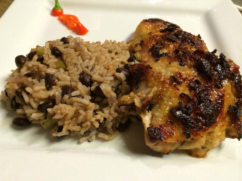 Caribbean Black Beans & Rice | Guilty Gator Recipes