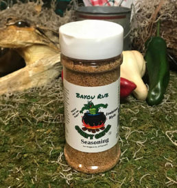 Bayou Rub Seasoning Blend | Guilty Gator