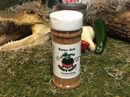 Bayou Rub Seasoning Blend | Guilty Gator