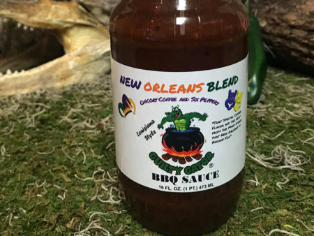 New Orleans Blend BBQ Sauce | Guilty Gator