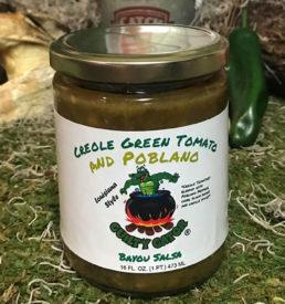 Creole Green Tomato & Poblano Salsa - Guilty Gator