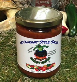 Restaurant Style Salsa - Guilty Gator